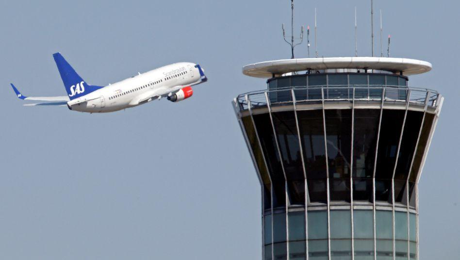 SAS-Flugzeug über Paris: Mehr als 380.000 betroffene Fluggäste