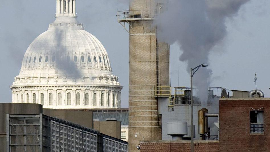 Kohlekraftwerk vorm Senat: EPA darf weiter CO2-Grenzwerte setzen