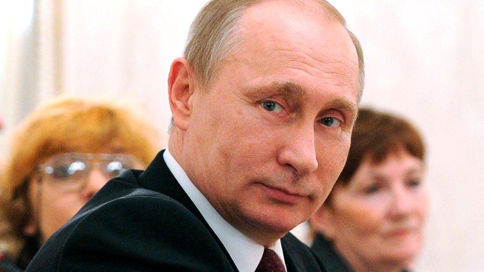 Russlands Präsident Putin: Was verdient er tatsächlich?