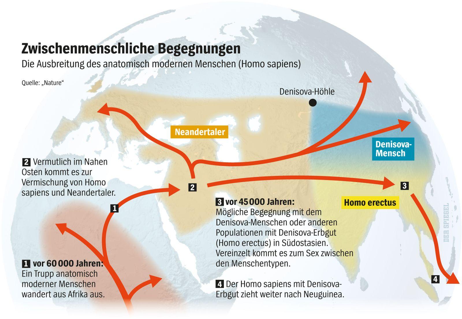 EINMALIGE VERWENDUNG SPIEGEL 10/2014 S. 96 Neandertaler