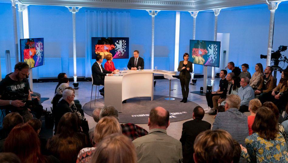 Sandra Maischberger in Erfurt: Für kritische Nachfragen blieb kaum Zeit