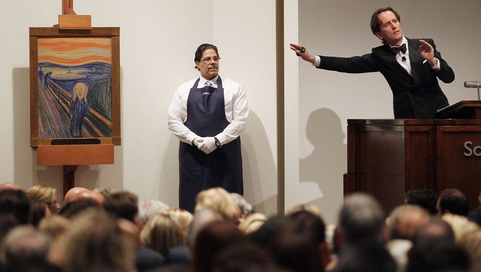 119,9 Millionen Dollarfür Munch-Bild: Zum Schreien teuer