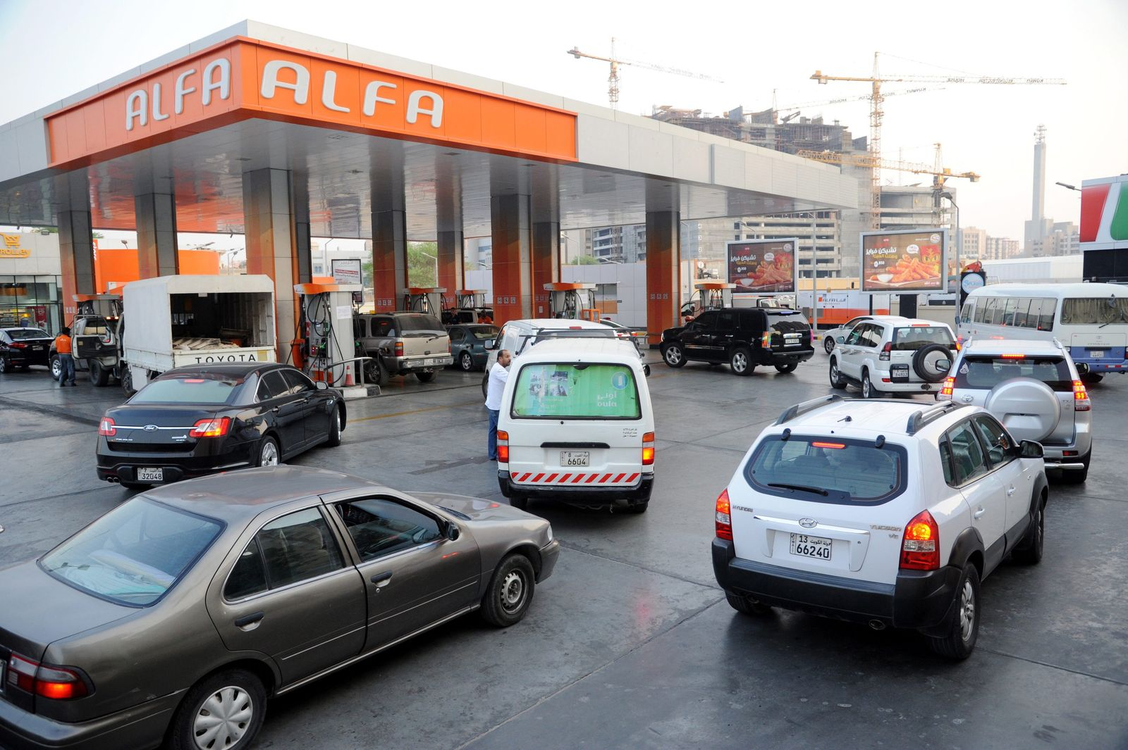 Oil prices increase in Kuwait