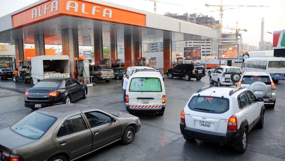 Tankstelle in Kuwait