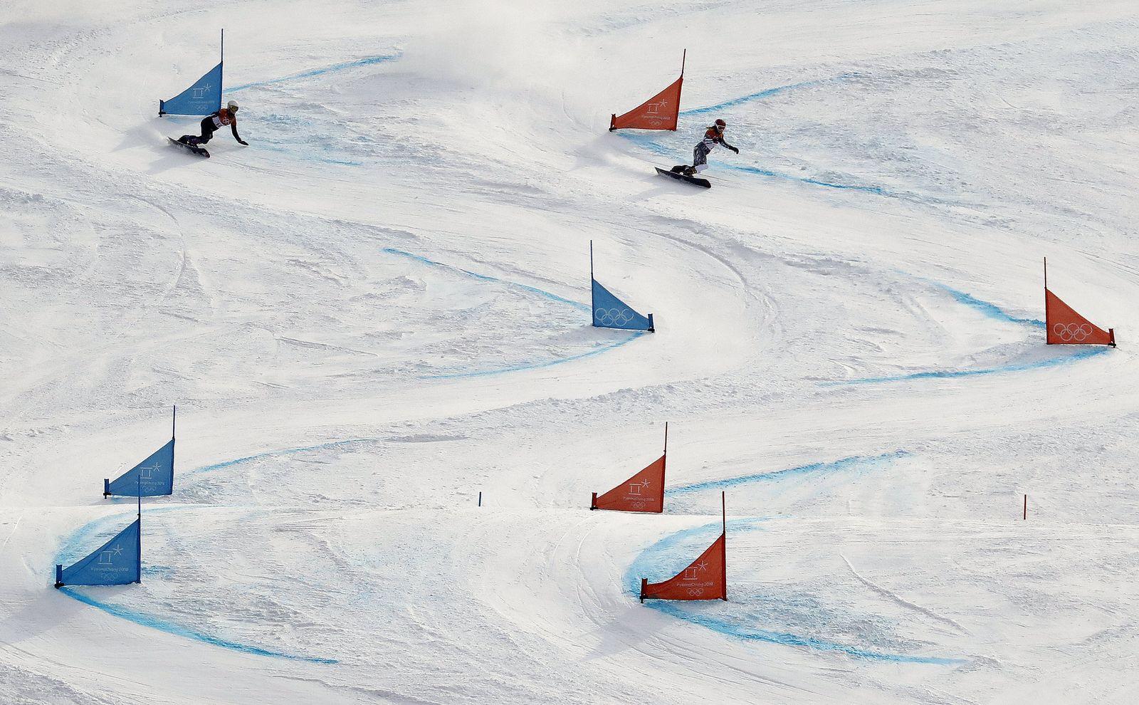 Pyeongchang 2018 - Snowboard Strecke