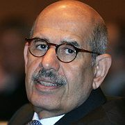International Atomic Energy Agency (IAEA) Director General Mohamed ElBaradei.