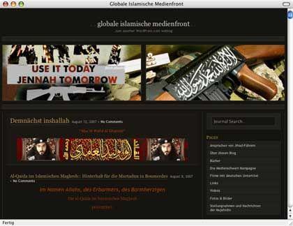 Homepage der GIMF: Im Forum ging es zur Sache