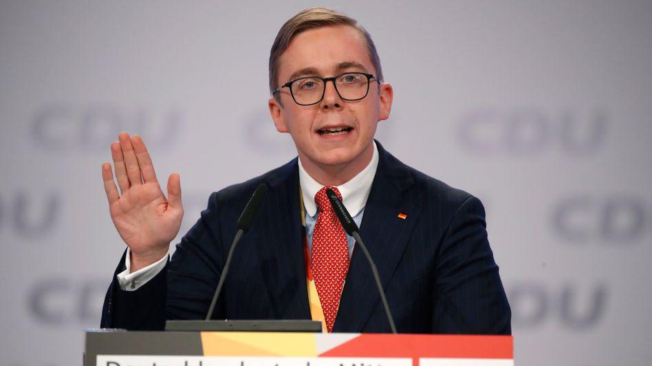 Philipp Amthor: Wegen Lobbyismusarbeit unter Druck