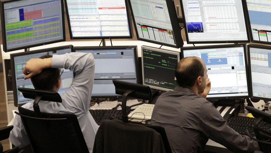 "Börsenhändler in Frankfurt: ""Selbst Italien ist ja schon toxisch"""