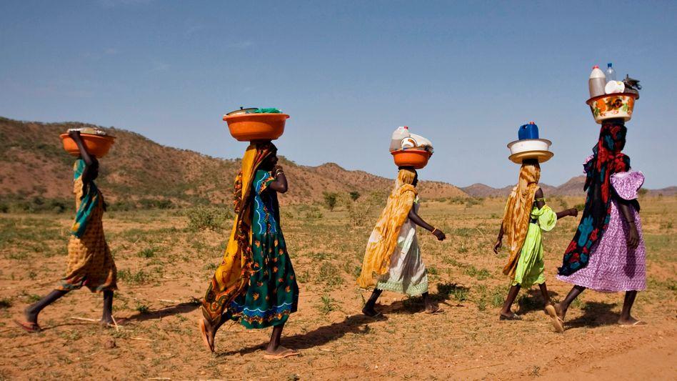 """Frauen im Tschad: Auf der Liste der """"fragilen Staaten"""""""