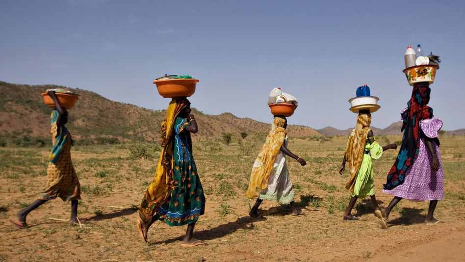 """Women in Chad, a country on the OECD's list of """"States of Fragility."""""""