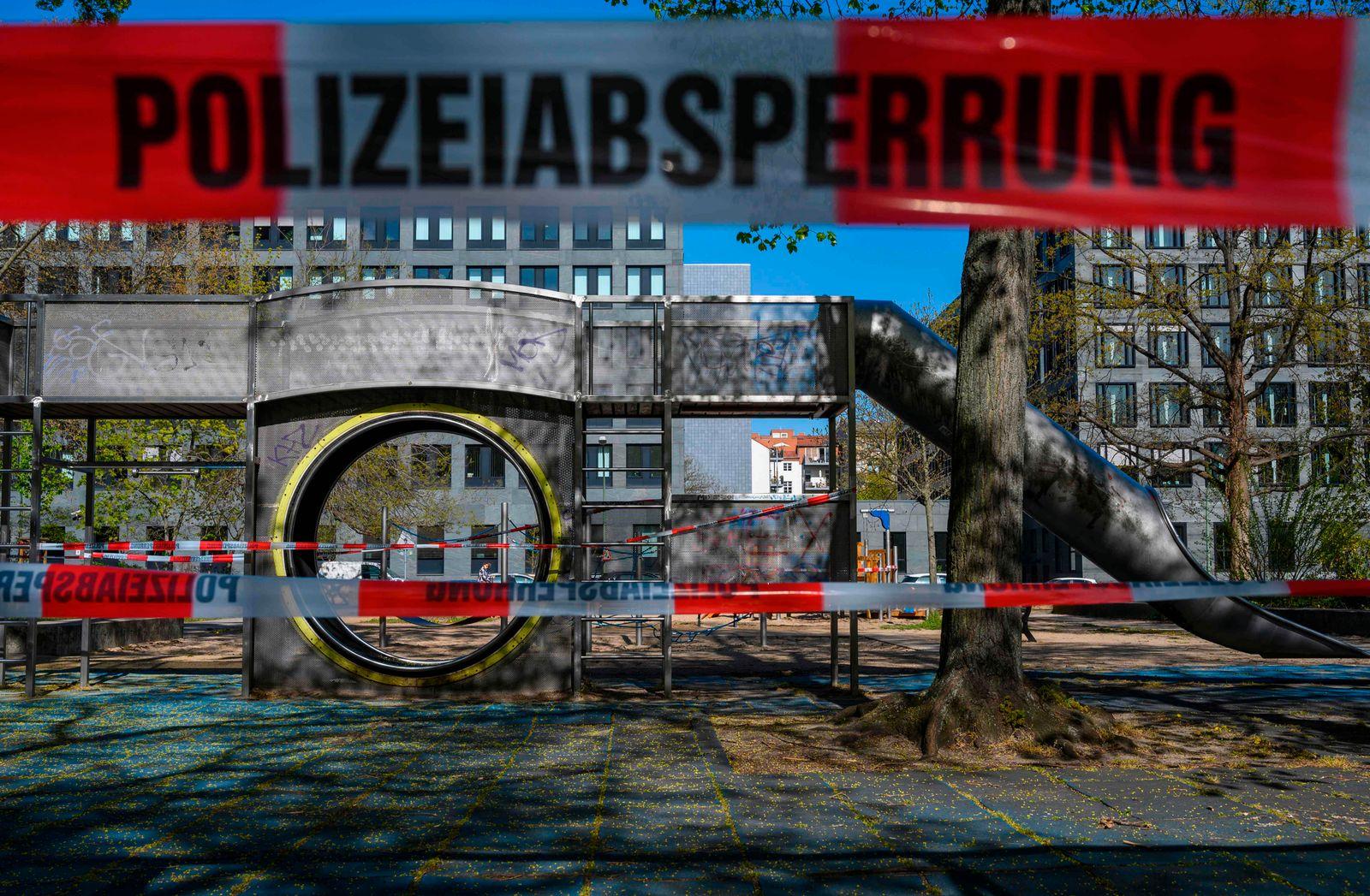 GERMANY-HEALTH-VIRUS-PLAYGROUND