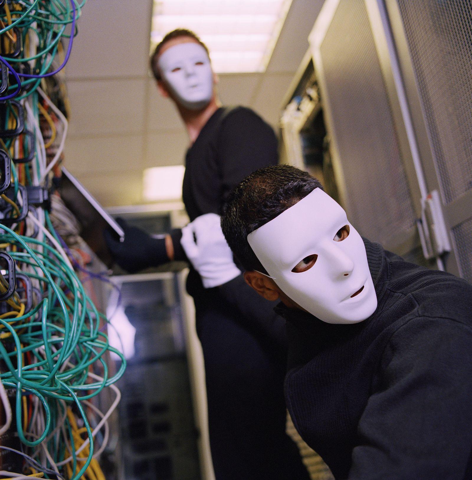 NICHT MEHR VERWENDEN! - Symbolbild / Hacker / Internet