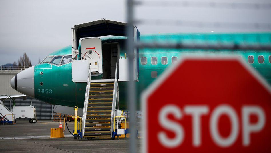 Boeings im Dornröschenschlaf: In Renton warten fertige 737-Max-Modelle auf ihre Zulassung