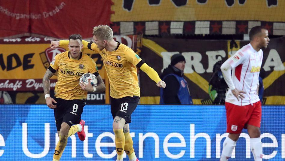 2. Bundesliga: Dynamo Dresden feiert ersten Auswärtssieg der Saison