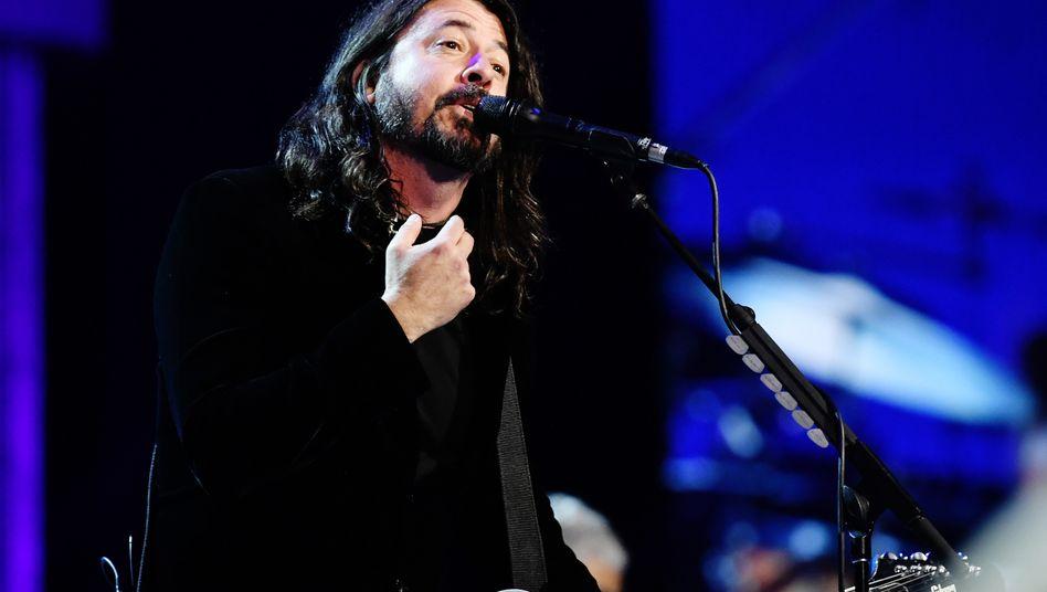 Dave Grohl während der Grammy-Verleihung im Januar 2020 in Los Angeles