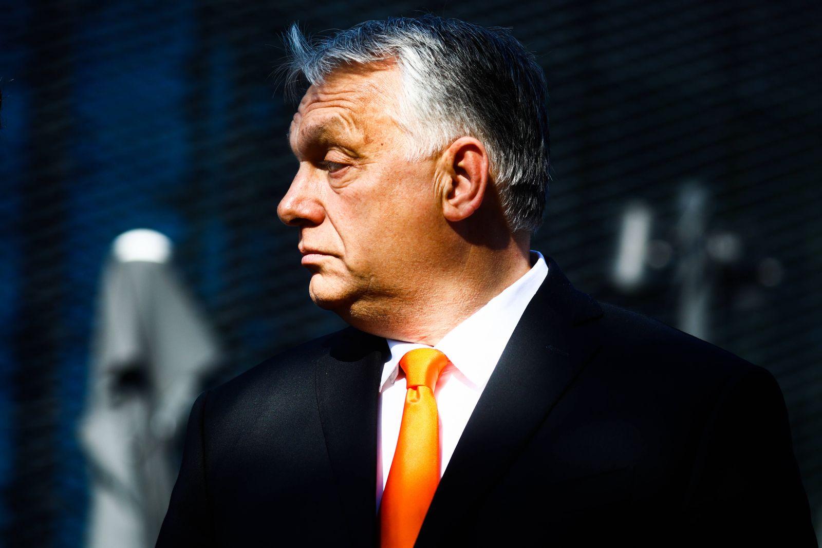 Viktor Orban At V4 Presidency Summit In Poland Viktor Orban, the Prime Minister of Hungary, is photographed during the V