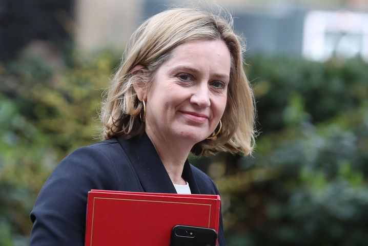 Arbeitsministerin Amber Rudd