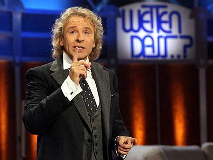 Entertainer Gottschalk in der umstrittenen November-Sendung: Schleichwerbung für einen guten Zweck