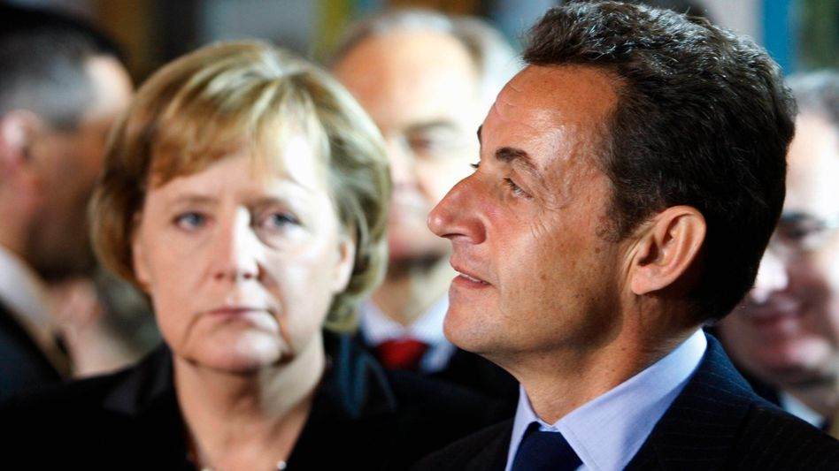 """Merkel, Sarkozy: """"Nicht ausreichend gewappnet"""""""