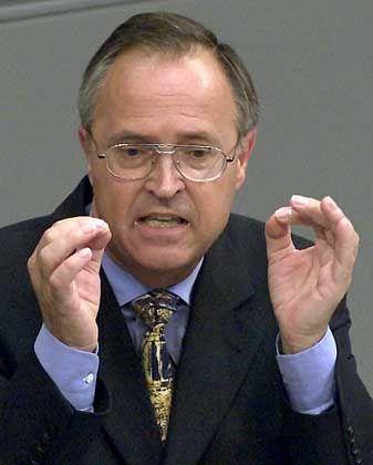 Will kriminellen Finanzgeschäften nachstellen: Hans Eichel