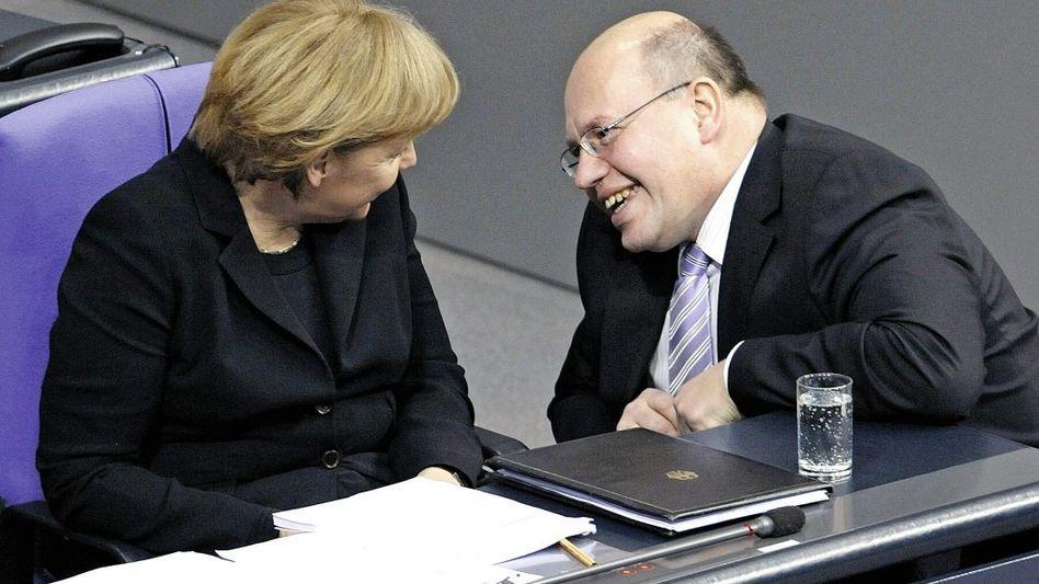 Kanzlerin Merkel, Vertrauter Altmaier: »Ich mache unseren CDU-Wählern keine Angst«