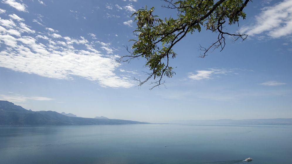 Erdrutsch: Tsunami auf dem Genfer See
