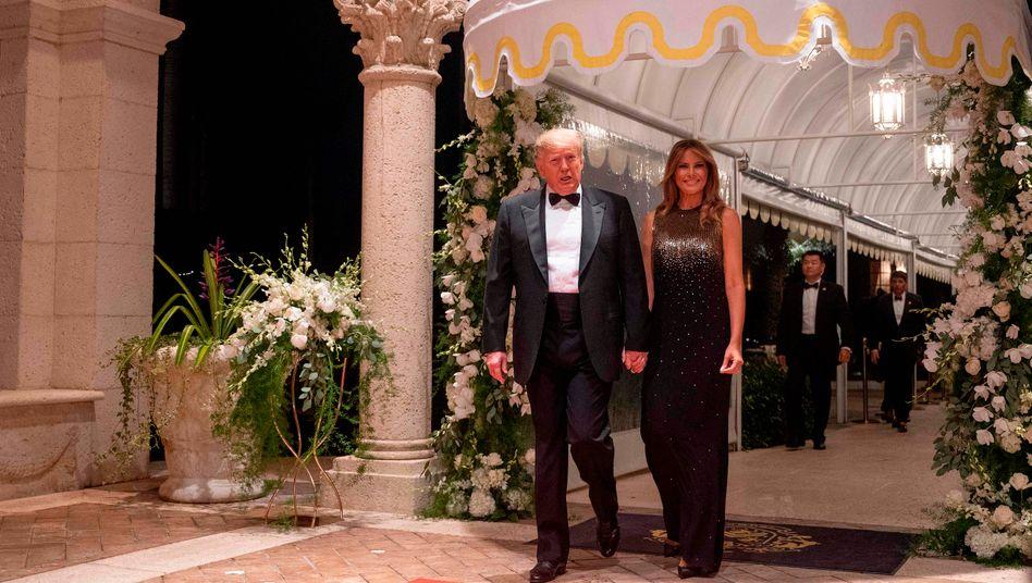 Ehepaar Trump in Mar-a-Lago (Archivbild)