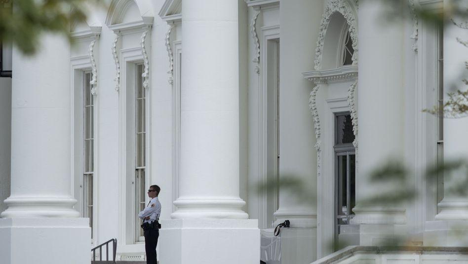 Sicherheitsbeamter vor dem Weißen Haus: Besorgniserregende Erkenntnisse