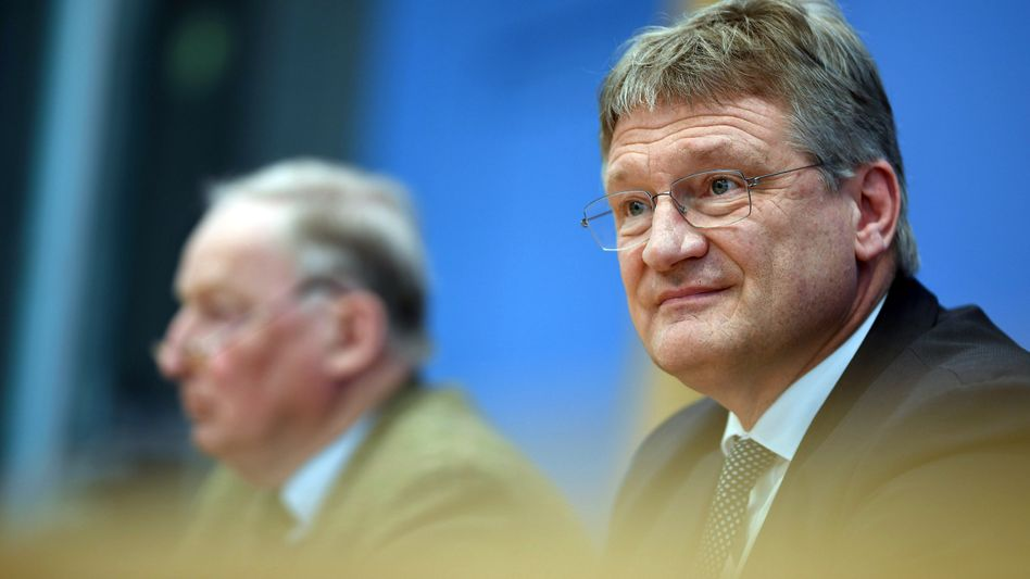 AfD-Chefs Alexander Gauland und Jörg Meuthen (v.l.)