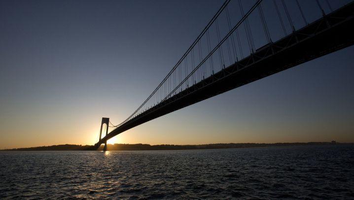 Verrazzano-Narrows Bridge: Endlich Doppel-Z