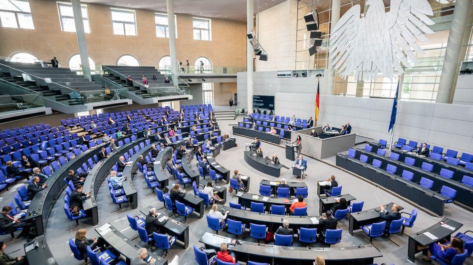 Bundestagsdebatte, 28. Mai 2020