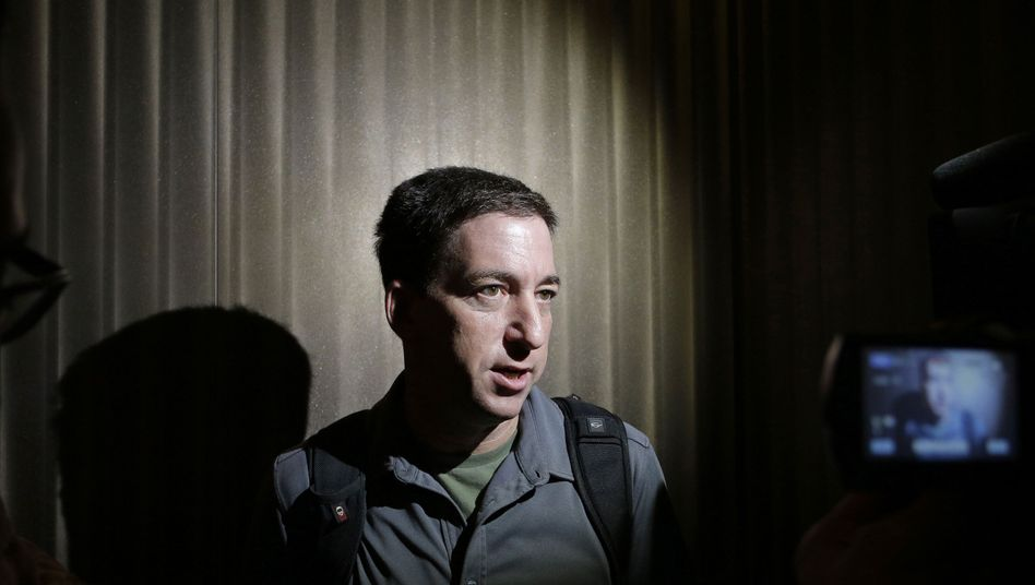 Reporter Glenn Greenwald in Hongkong: Plötzlich selbst im Rampenlicht