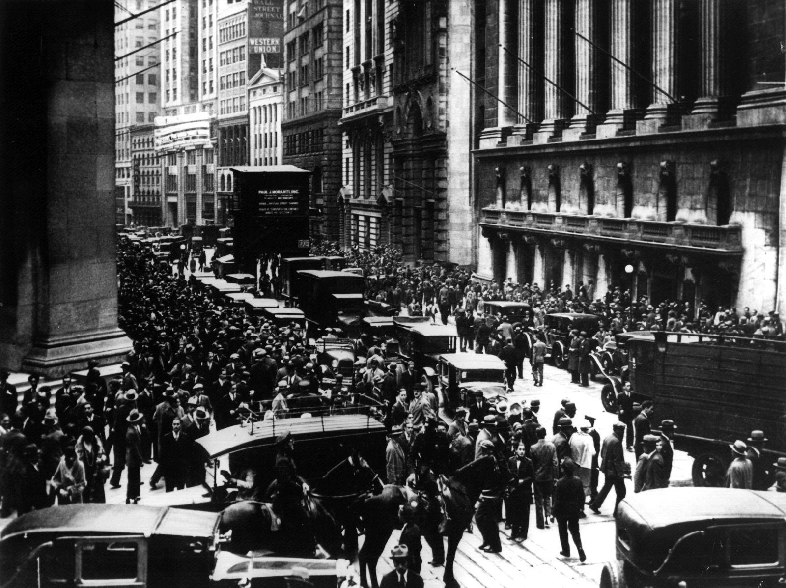 Kollaps der Wall Street 1929