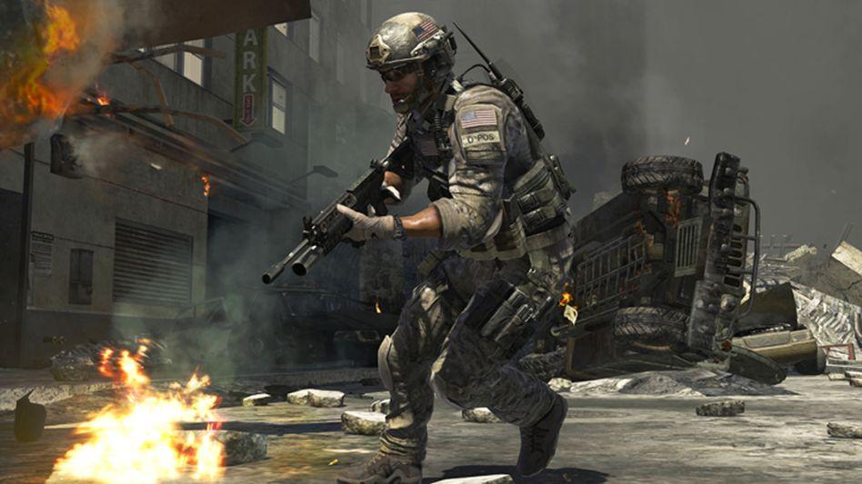 Szene aus der bekannten Spielreihe »Call of Duty«