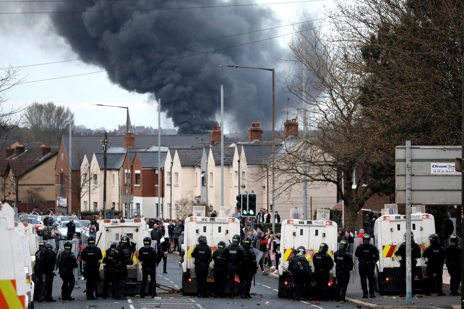 Unruhen in Nordirland