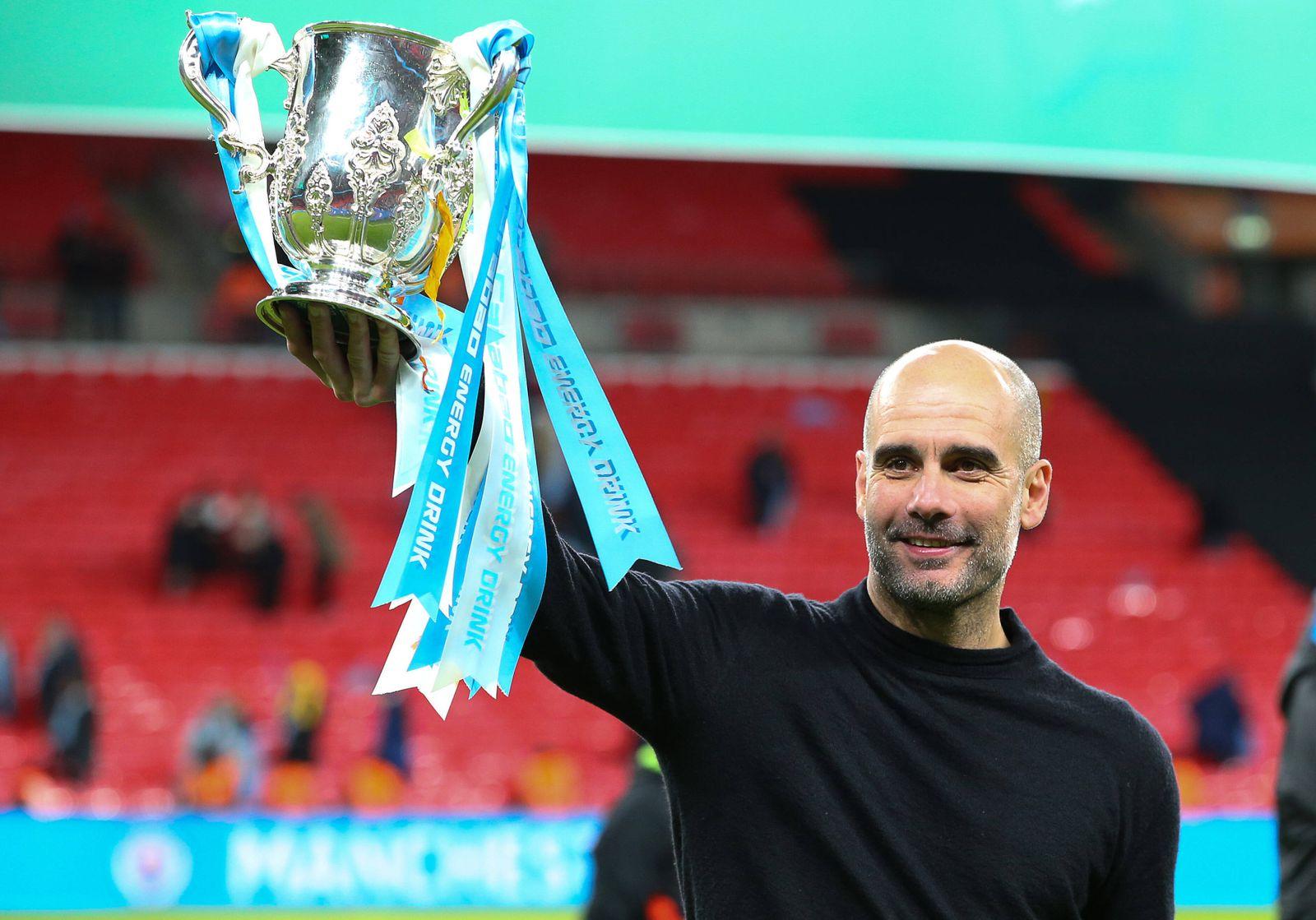 Bilder des Jahres 2020, Sport 03 März Sport Themen der Woche KW09 Sport Bilder des Tages Manchester CityÕs head coach P