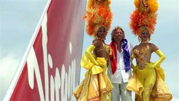 Branson worldwide: Der tanzende Airline-Chef