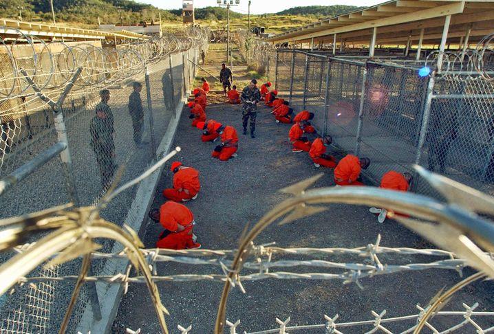 Häftlinge in Guantanamo: Einige Vorgehensweisen können als Folter gewertet werden