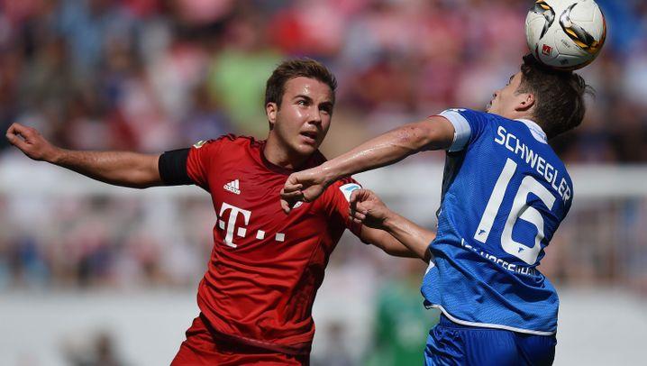 Fotostrecke: Bayerns irrer Auftritt in Hoffenheim