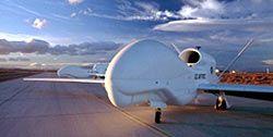 """Unbemanntes Flugzeug """"Global Hawk"""""""