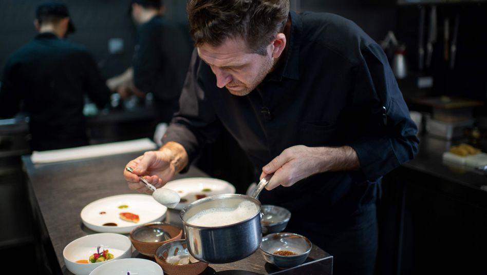 Dreisterneküche: Das Restaurant von Alexandre Mazzia wurde vom »Guide Michelin« ausgezeichnet