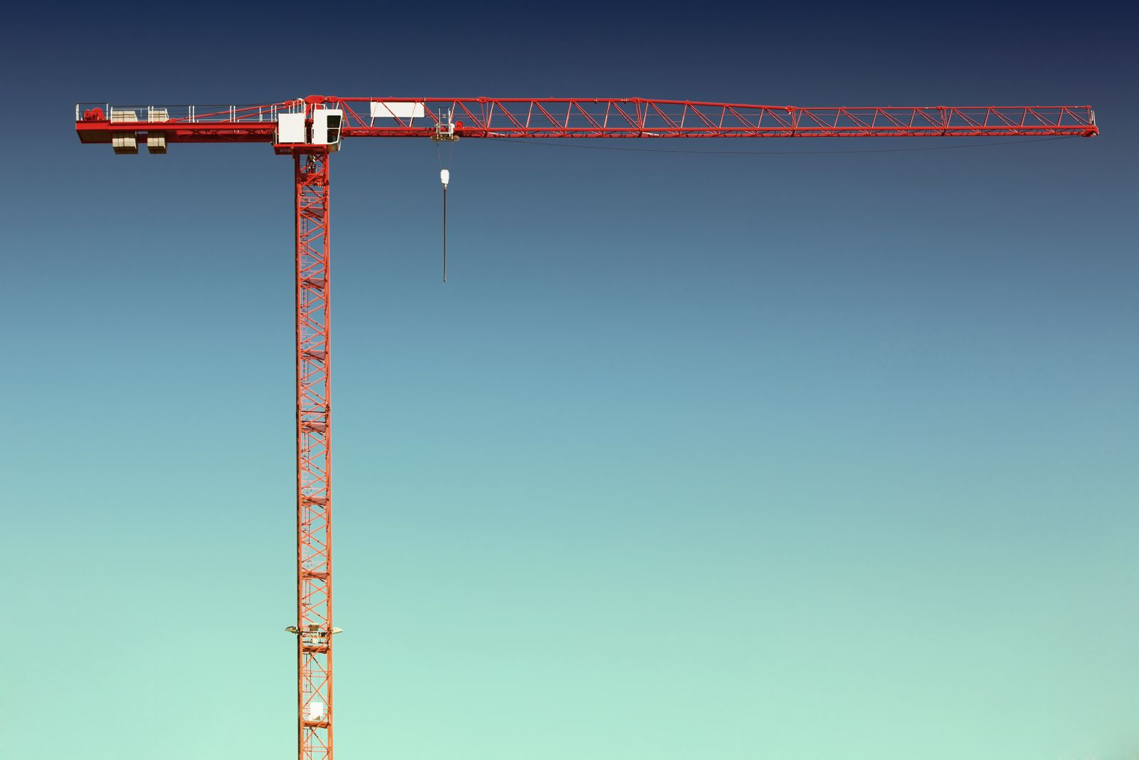 Crane with sky (Germany)