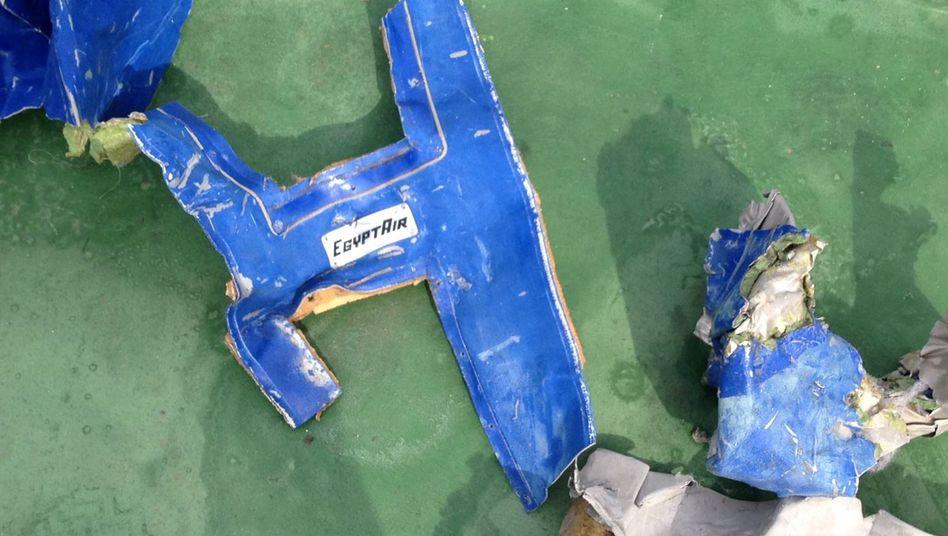 Wrackteil der EgyptAir-Maschine