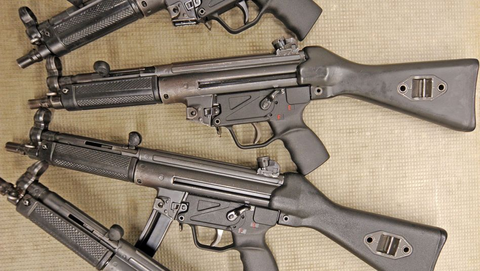 Maschinenpistolen vom Typ MP5: Erneuter Ärger für Heckler & Koch