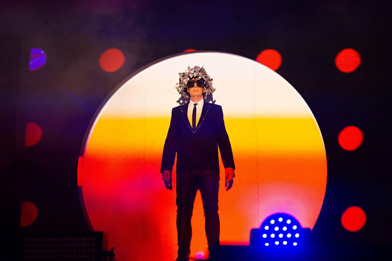 July 21 2018 Benicassim Castellon Spain Neil Francis Tennant of british band Pet Shop Boys pe