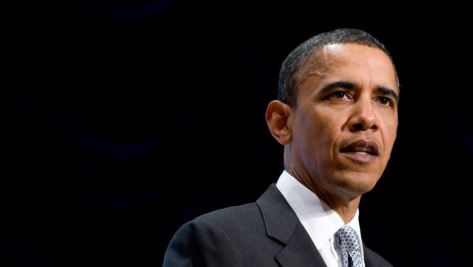 US-Präsident Barack Obama: Keine neue Web-Behörde, keine neuen Gesetze