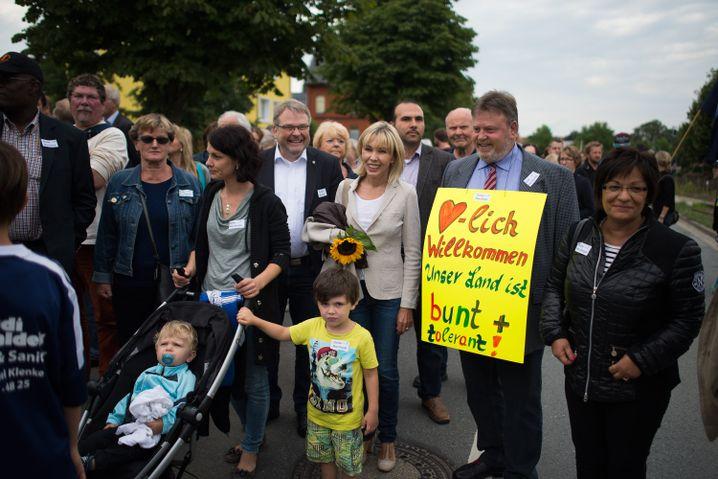 Niedersachsens Migrationsbeauftragte Doris Schröder-Köpf (SPD) in Salzhemmendorf