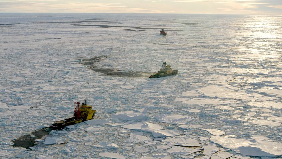 """Eisbrecher am Nordpol (September 2004): """"Was passiert hier?"""""""