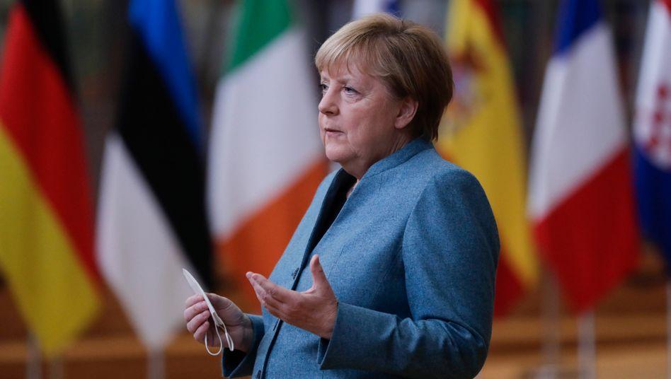 """Bundeskanzlerin Merkel über einen Handelspakt mit Großbritannien: """"Besser wäre es, wir hätten ein solches Abkommen"""""""